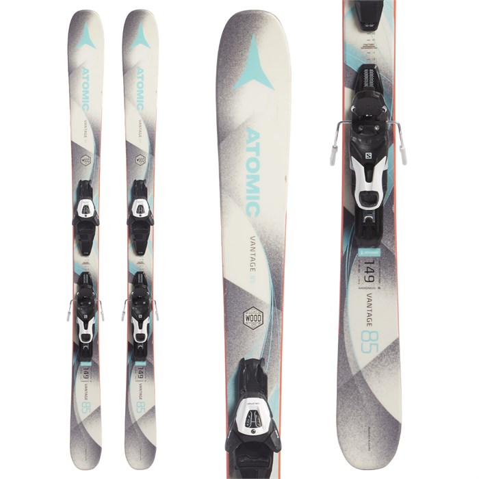 Atomic Vantage 85 Skis + Lithium 10 Bindings 2018 - Used