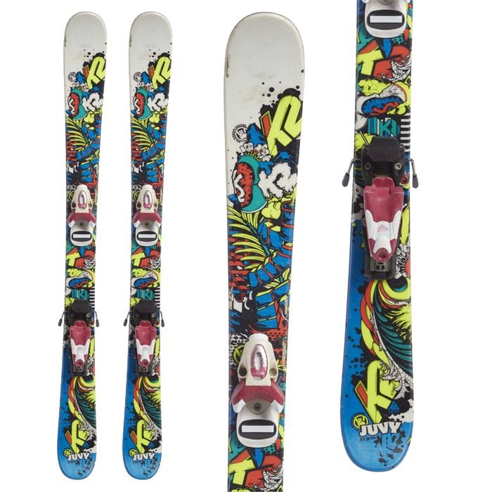 K2 - Juvy Skis + Roxy 4.5 Bindings - Little Kids' 2012 - Used