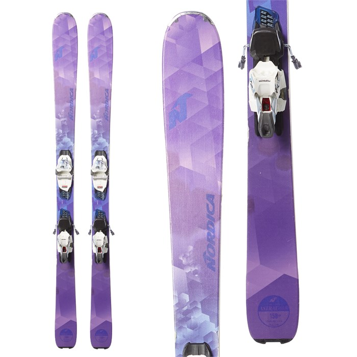 Nordica Astral 84 Skis + Marker TP 11 Bindings