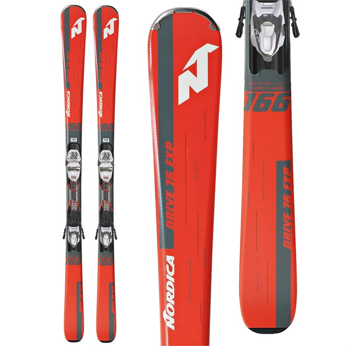 Nordica - Drive 76 EXP Skis + TP Compact 10 Bindings 2019