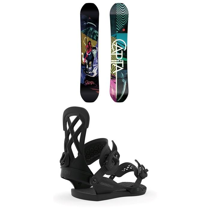 CAPiTA - Indoor Survival Snowboard + Union Contact Pro Snowboard Bindings 2020
