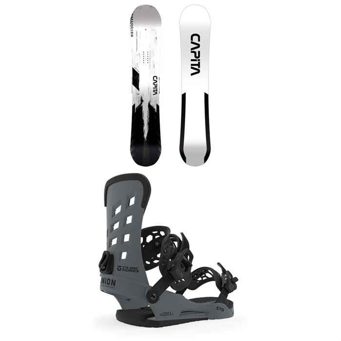CAPiTA - Mercury Snowboard + Union STR Snowboard Bindings 2020