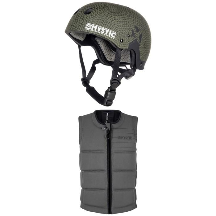 Mystic - MK8 X Wake Helmet + Brand Impact Wake Vest 2019