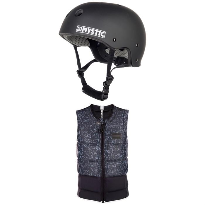Mystic - MK8 Wake Helmet + Magician Impact Wake Vest 2019