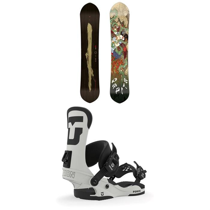 CAPiTA - Kazu Kokubo Pro Snowboard + Union Force Snowboard Bindings 2020