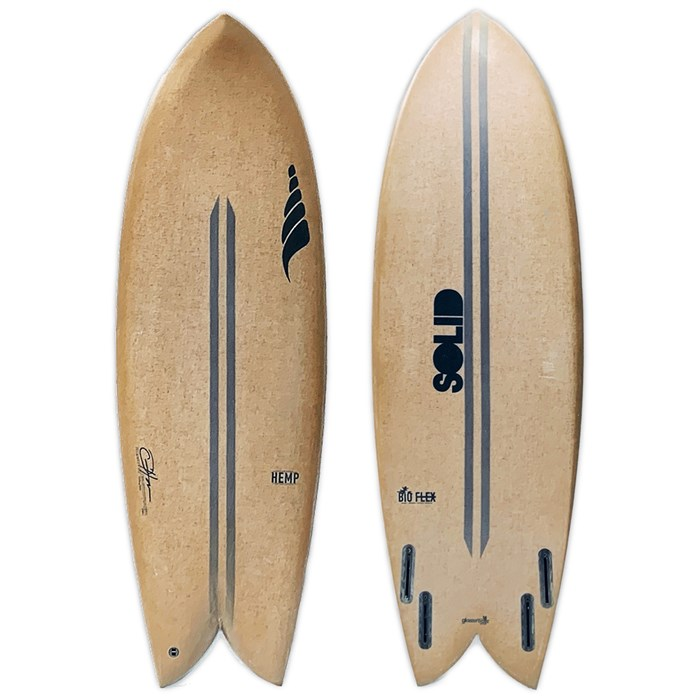 Solid Surf Co - Throwback Surfboard