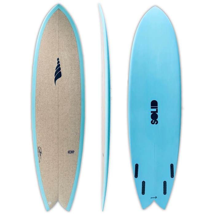 Solid Surf Co - Pescador Surfboard