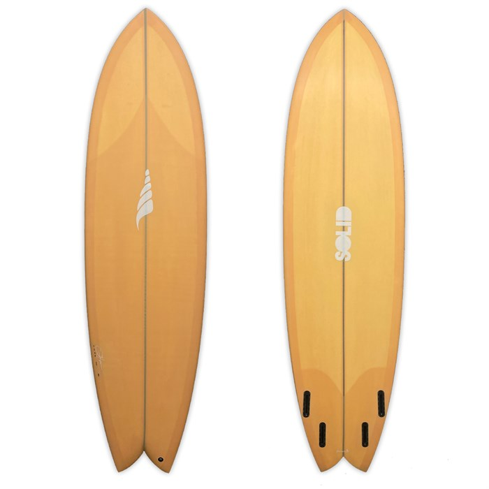 Solid Surf Co Pescador hybrid Surfboard