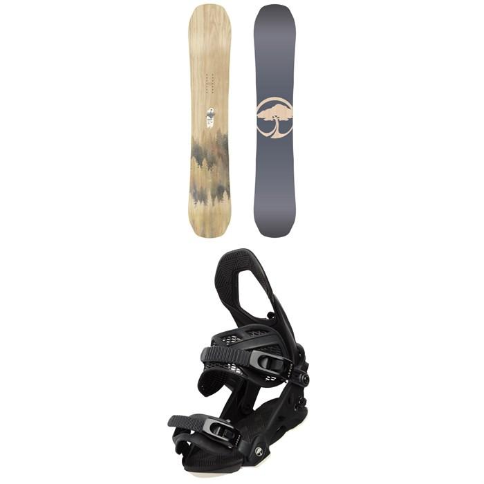 Arbor - Swoon Camber Snowboard - Women's + Arbor Sequoia Snowboard Bindings - Women's 2020