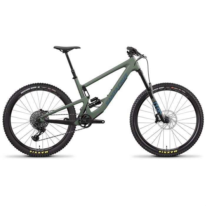Santa Cruz Bicycles - Bronson C S Complete Mountain Bike 2020