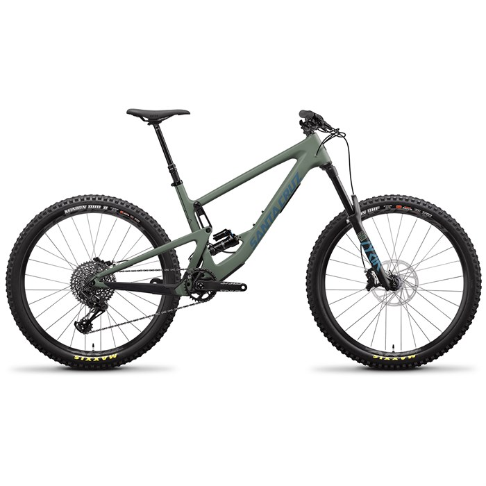 Santa Cruz Bicycles - Bronson C S+ Complete Mountain Bike 2020