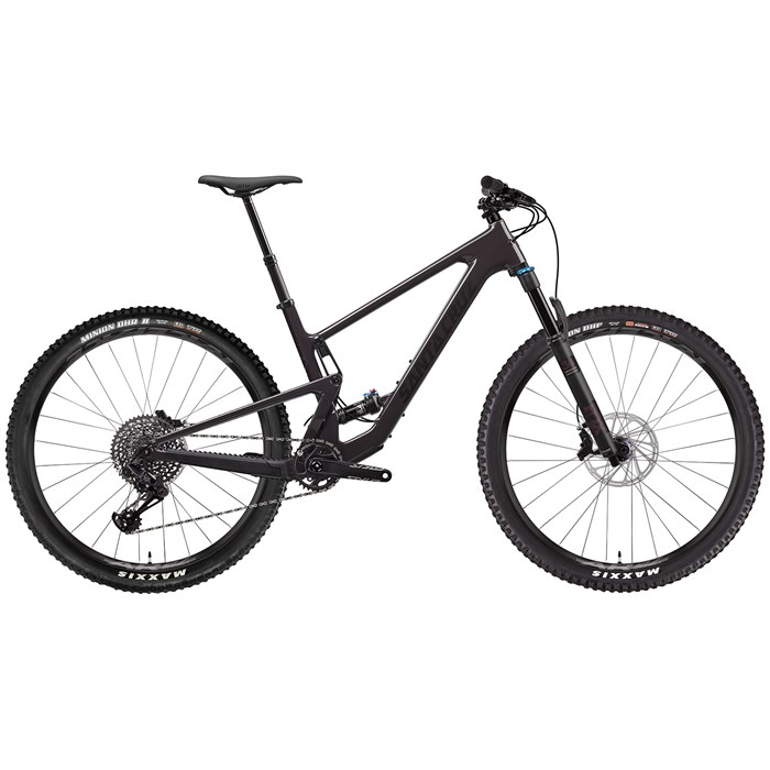 side facing santa cruz bicycles tallboy c s