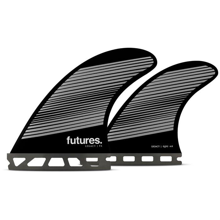 Futures - Legacy F6 Medium Quad Fin Set