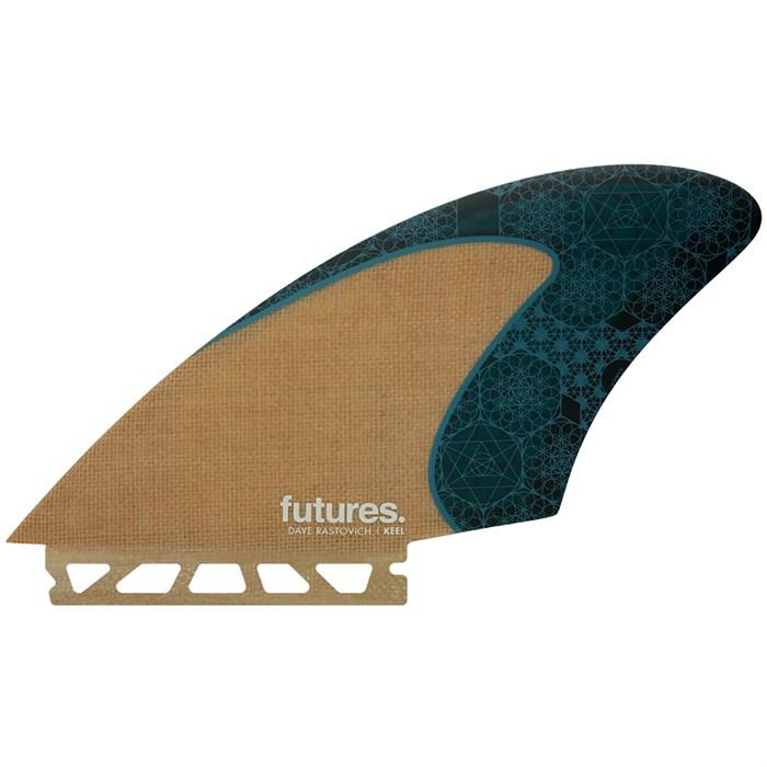 Futures - Rasta Keel Twin Fin Set