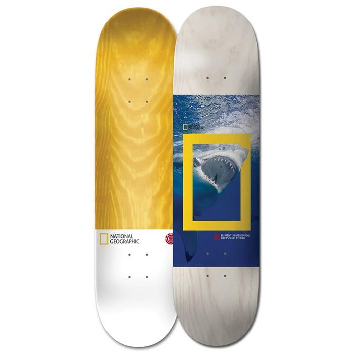 Element - Net Geo Greyson Shark 8.5 Skateboard Deck