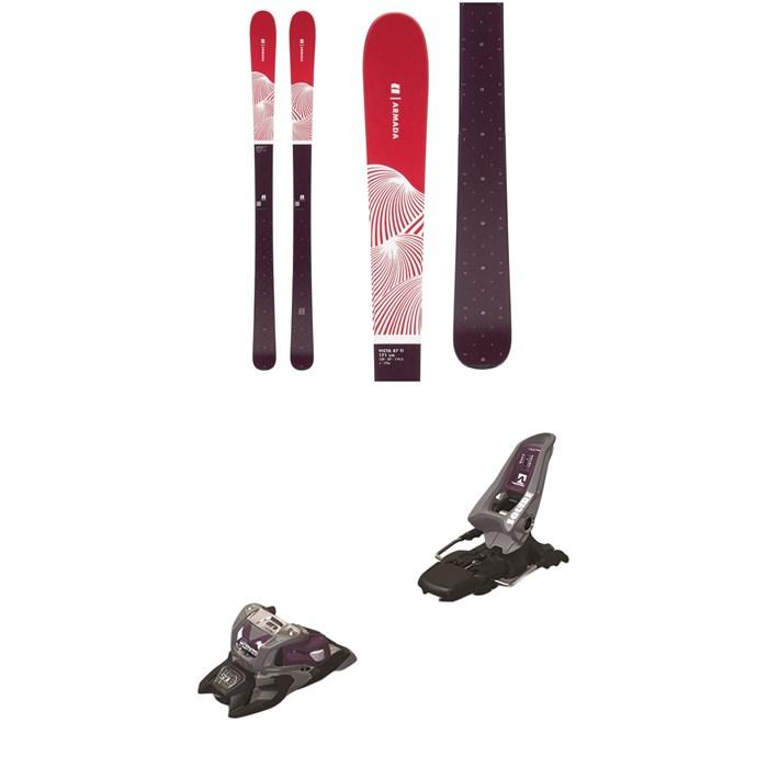 Armada - Victa 87 Ti Skis - Women's + Marker Squire 11 ID Ski Bindings 2020