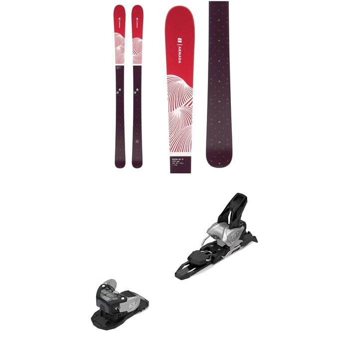 Armada - Victa 87 Ti Skis - Women's + Salomon Warden MNC 11 Ski Bindings 2020