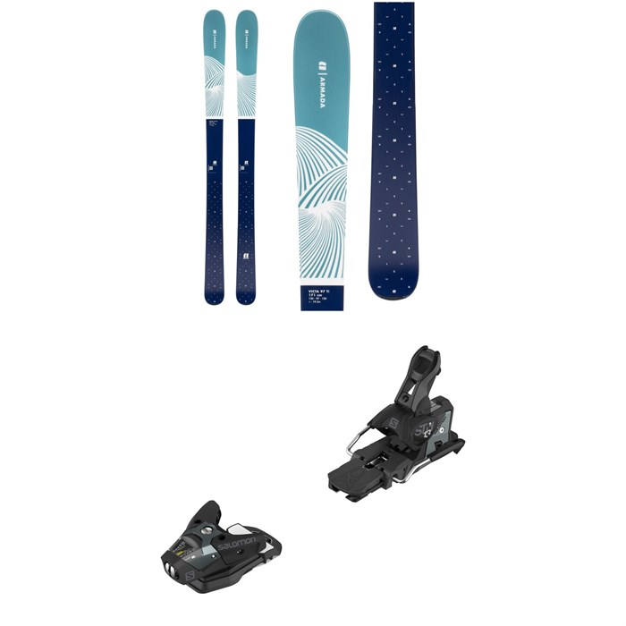 Armada - Victa 97 Ti Skis - Women's + Salomon STH2 WTR 13 Ski Bindings 2020