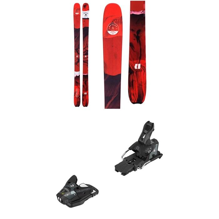 Armada - Tracer 88 Skis + Salomon STH2 WTR 13 Ski Bindings 2020