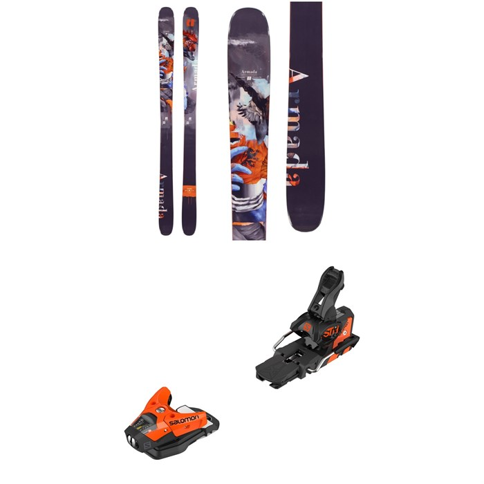 Armada - ARV 96 Skis + Salomon STH2 WTR 13 Ski Bindings 2020