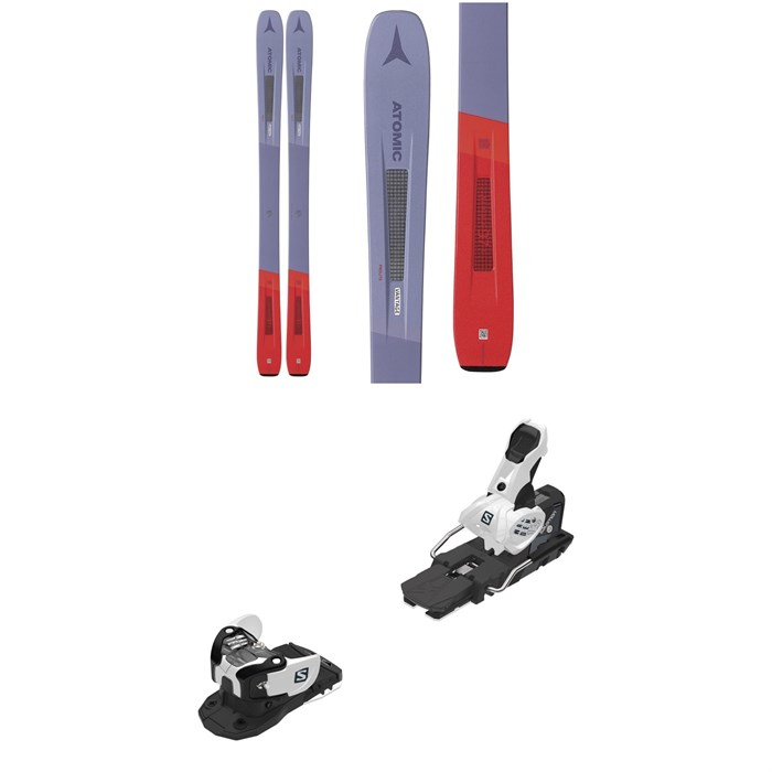 Atomic - Vantage 97 C W Skis - Women's + Salomon Warden MNC 13 Ski Bindings 2020