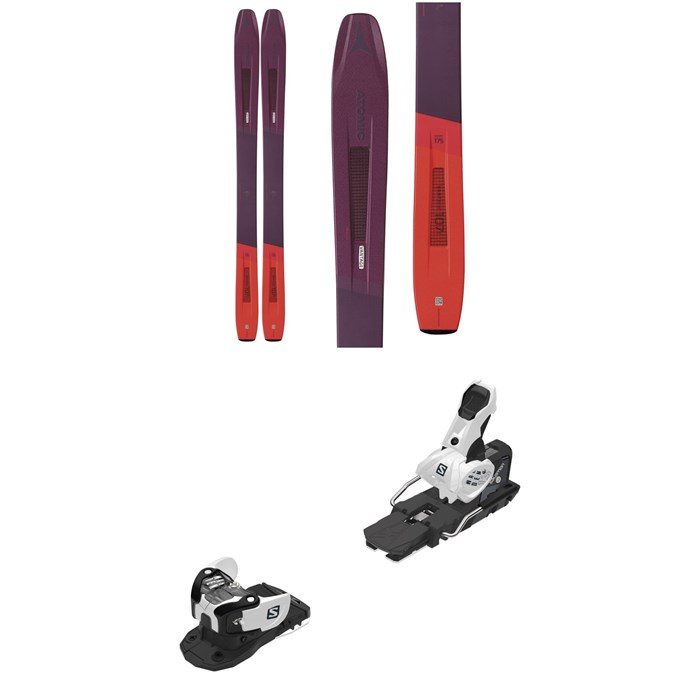 Atomic - Vantage 107 C W Skis - Women's + Salomon Warden MNC 13 Ski Bindings 2020