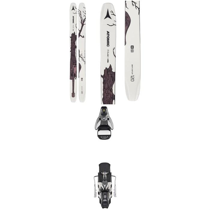 Atomic - Bent Chetler 120 Skis + STH2 WTR 16 Ski Bindings 2020
