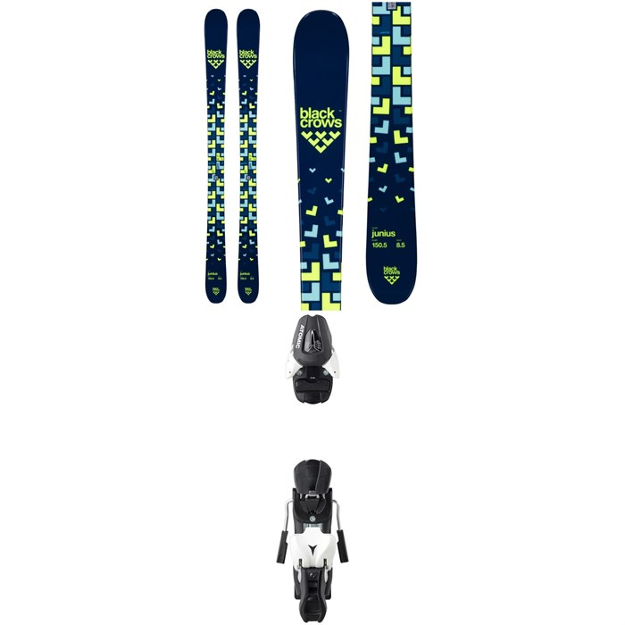 Black Crows - Junius Skis - Big Boys' + Atomic L 7 Ski Bindings 2020