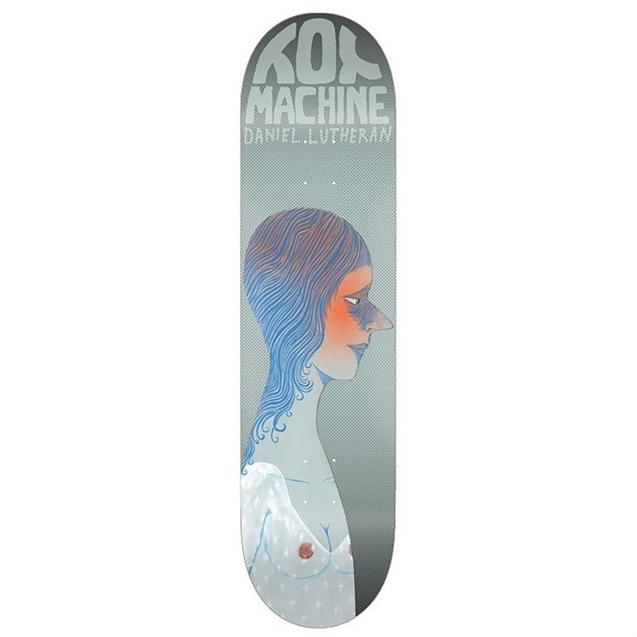 Toy Machine - Daniel Lutheran Faces 8.38 Skateboard Deck