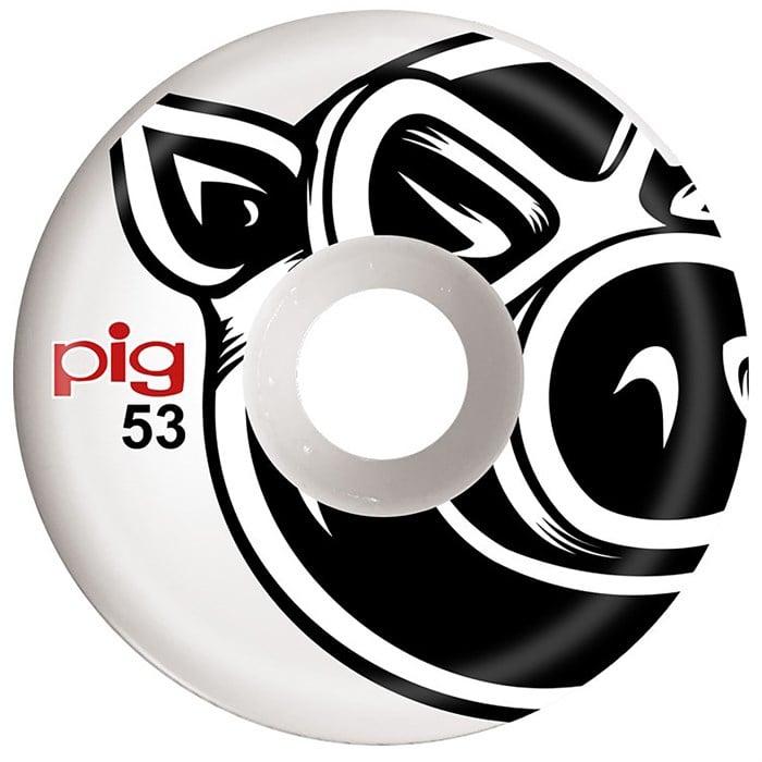Pig - Pig Head Conical White 101A Skateboard Wheels