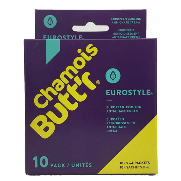 Chamois Butt'r - Eurostyle Skin Lubricant - 10 Pack
