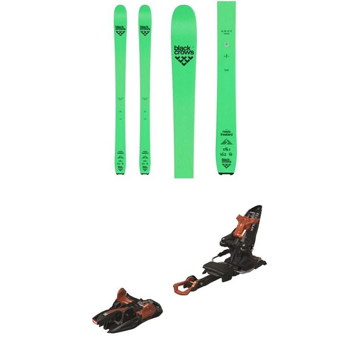 Black Crows - Navis Freebird Skis + Marker Kingpin 13 Alpine Touring Ski Bindings 2020