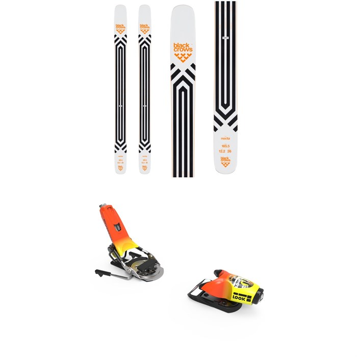 Black Crows - Nocta Skis + Look Pivot 18 Ski Bindings 2020