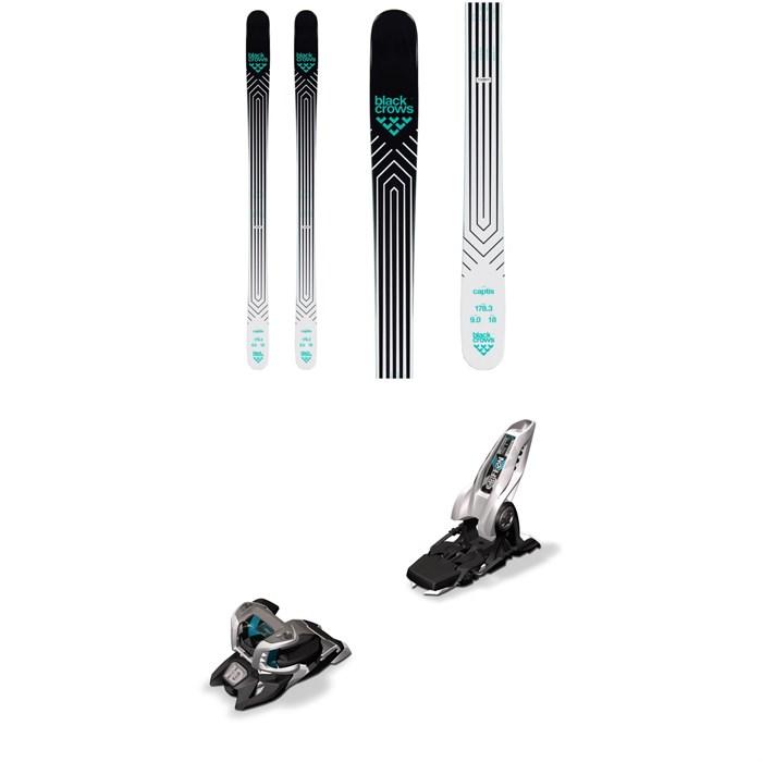 Black Crows - Captis Skis + Marker Griffon 13 ID Ski Bindings 2020