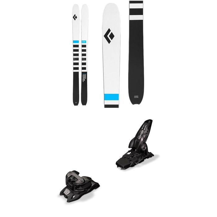 Black Diamond - Helio Recon 105 Skis + Marker Griffon 13 ID Ski Bindings 2020