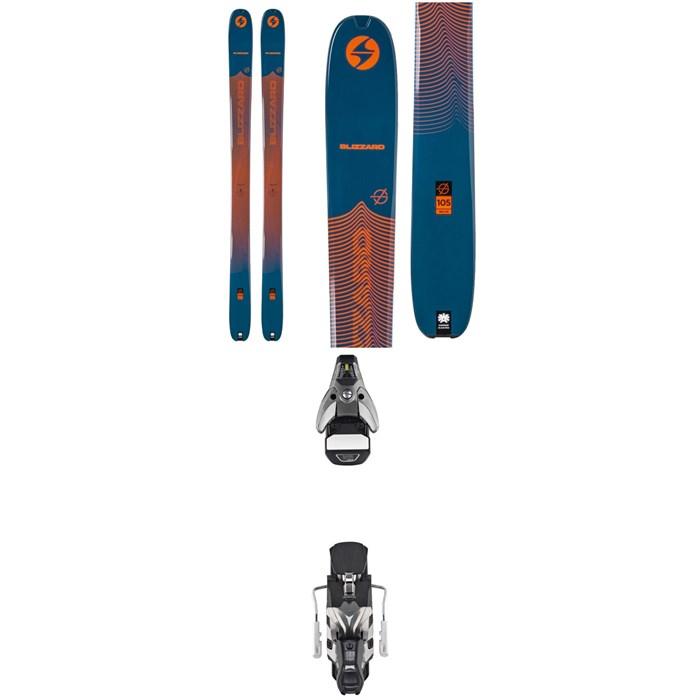 Blizzard - Zero G 105 Skis + Atomic STH2 WTR 16 Ski Bindings 2020