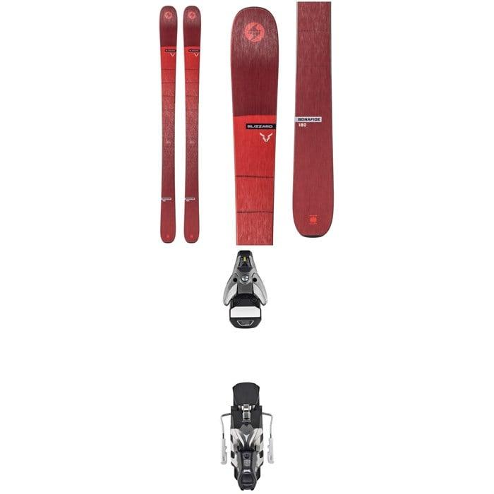 Blizzard - Bonafide Skis + Atomic STH2 WTR 16 Ski Bindings 2020