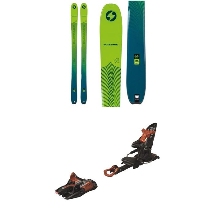 Blizzard - Zero G 95 Skis + Marker Kingpin 10 Alpine Touring Ski Bindings 2020