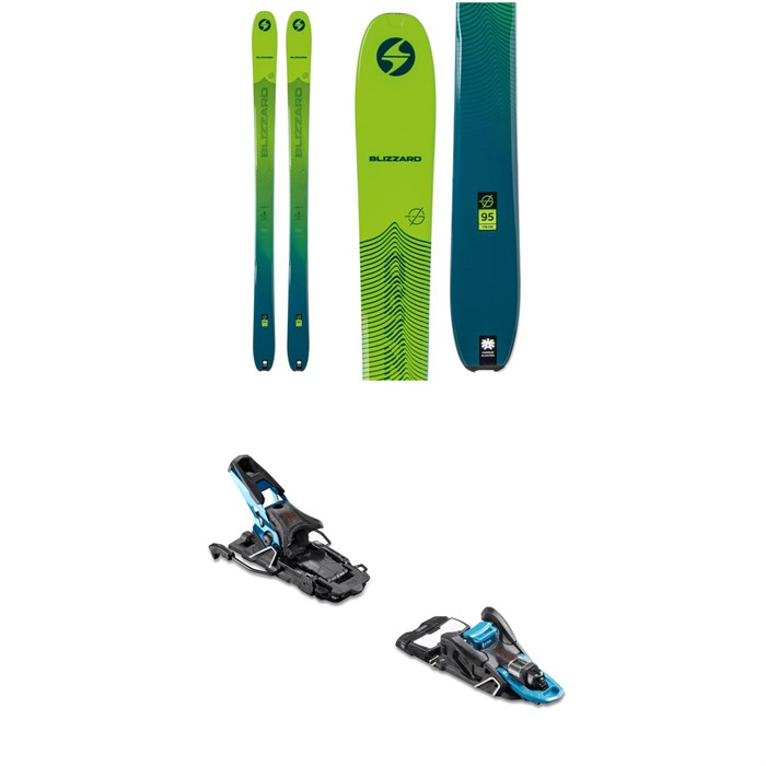 Blizzard - Zero G 95 Skis + Salomon S/Lab Shift MNC Alpine Touring Ski Bindings 2020