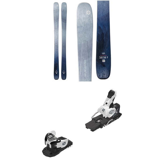 Blizzard - Sheeva 9 Skis - Women's + Salomon Warden MNC 13 Ski Bindings 2020