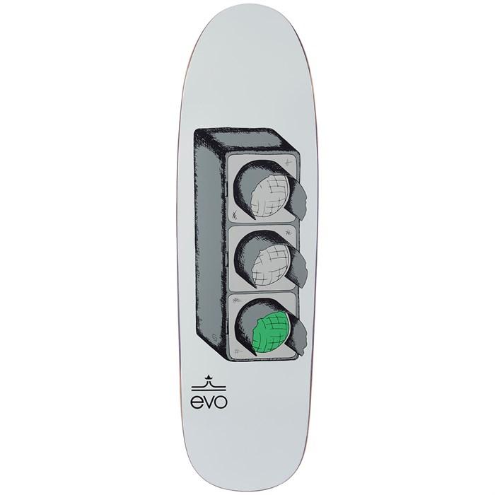 evo - Stoplight Shaped 8.75 Skateboard Deck