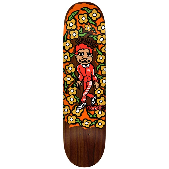 Krooked - Gonz Sweatpants 8.5 Skateboard Deck