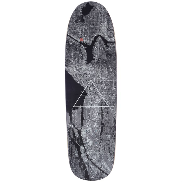 ATS - City View Shaped 9.0 Skateboard Deck