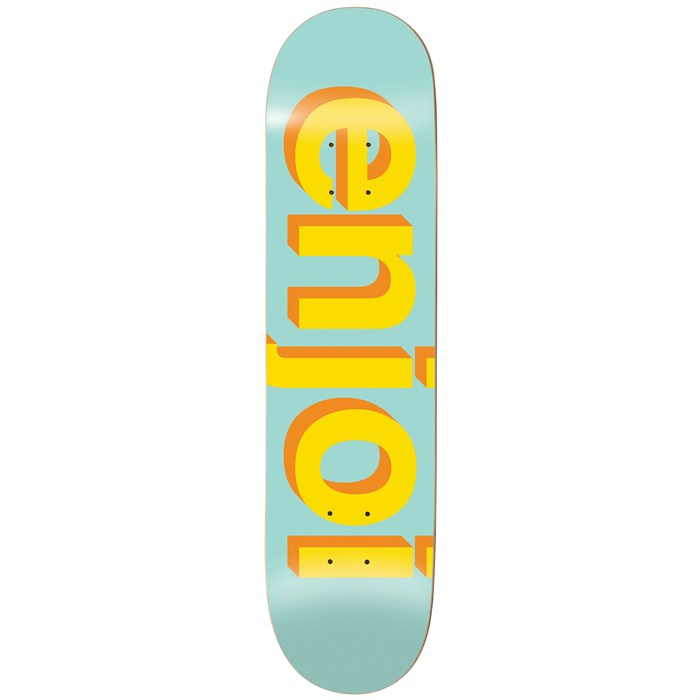 Enjoi - Helvetica Neue 7.75 Skateboard Deck
