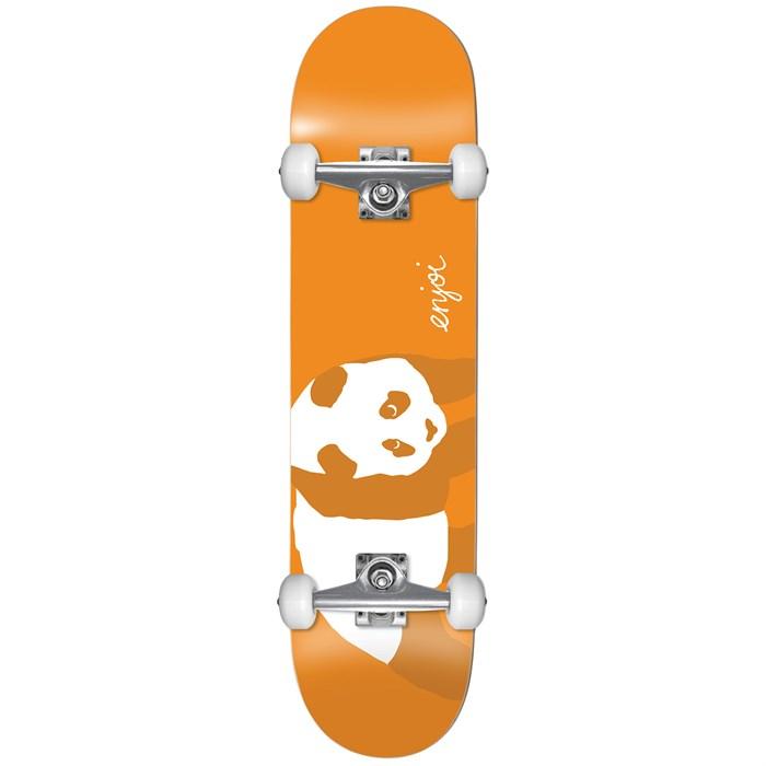 Enjoi - Orange Panda Soft Wheels 8.0 Skateboard Complete