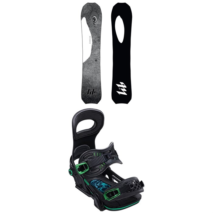 Lib Tech - T.Rice Orca Snowboard + Bent Metal Transfer Snowboard Bindings 2020