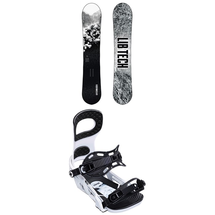 Lib Tech - Cold Brew C2 Snowboard + Bent Metal Joint Snowboard Bindings 2020