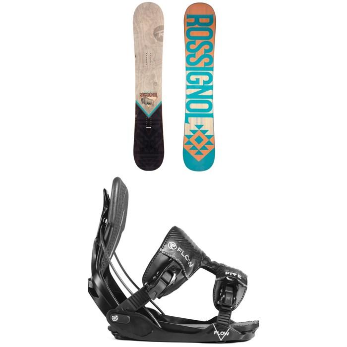 Rossignol - Templar Snowboard + Flow Five Fusion Snowboard Bindings 2019