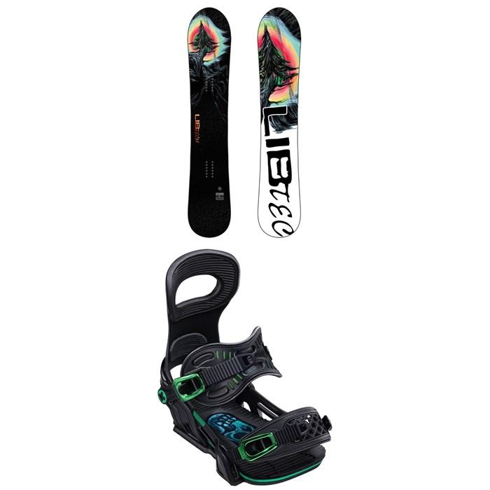 Lib Tech - Dynamo C3 Snowboard + Bent Metal Transfer Snowboard Bindings 2020