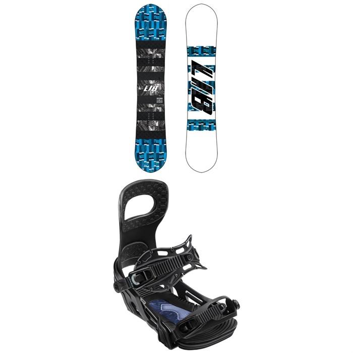 Lib Tech - Skate Banana BTX Snowboard + Bent Metal Joint Snowboard Bindings 2020